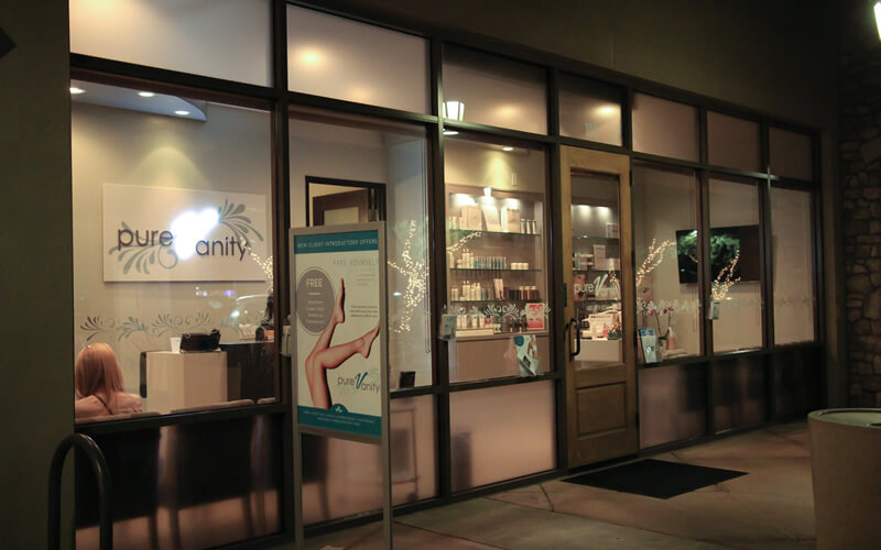 Welcome to Pure Vanity Spa